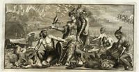 Antique Print-ALLEGORY-CORNUCOPIA-GODDESS-Rumphius-Maria Sybilla Merian-1741