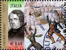 2011 italia repubblica 150° Unità I Protagonisti Vincenzo Gioberti usata