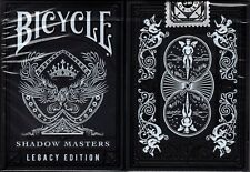 Shadow Masters Legacy Bicycle Playing Cards Poker Size Deck USPCC ellusionist