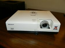 Sharp Notevision PG-D2510X DLP Projector, Bad Lamp, for  Parts or Repair.