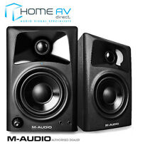 M-audio AV32-altavoces activos alimentado Studio/Monitor-incluso cables-Par
