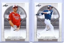 """(2) BRICE TURANG 2017 """"1ST EVER PRINTED"""" LEAF PERFECT GAME AAC ROOKIE CARD LOT!"""