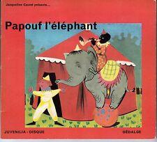 """33 T SOUPLE 17 CM """"PAPOUF L'ELEPHANT"""""""