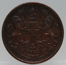 East India Company British India- 1/2 pice 1853 - KM# 464 - nice!