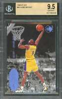 Kobe Bryant Rookie Card 1996-97 Ud3 #43 Los Angeles Lakers BGS 9.5