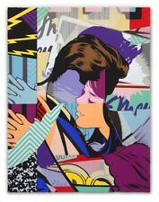 POSE Couples Therapy 2 Screen Print 18-Color x/100 AWR Modern Pop Art not Faile