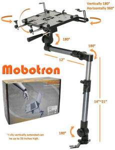 "Mobotron Heavy-Duty Vehicle Laptop Mount, Hold 10""-17"" Laptop, Tablet (MS-526)"