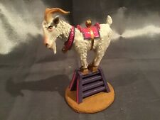 Hamilton Collection Ringling Bros Circus Billy Goat Hand Painted Pewter Figurine