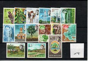 Br. Indian Ocean Territory Elizabeth -1968 (04) - set -15v - mint SG mint £40