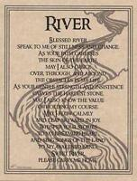 River Prayer Parchment Page for Book of Shadows!