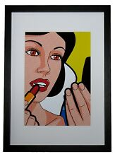 POP ART - SNOW WHITE - High Res, Archival Heavyweight Print - Available Framed