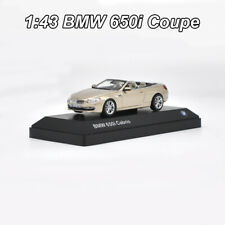 1:43 BMW 650i Coupe 6 series Roadster Diecast Model Car Collection New In Box