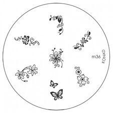 konad Image Plate M36 Disc Stamping Nail Art UK
