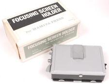 Mamiya Press Focusing Screen Holder - 99% Mint in Box
