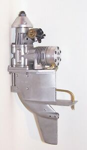 Excellent K & B 3.5 R/C Glow Outboard Model Marine Engine For Parts Or Restorati