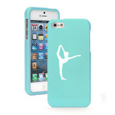 For Apple iPhone 4 4S 5 5S 5c 6 6s Plus Rubber Hard Case Cover Dancer Gymnastics