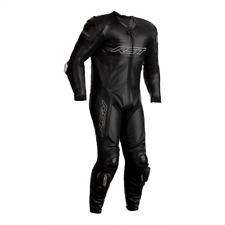 RST Tractech Evo R Leather Motorcycle 1 One Piece Suit - Black NEW