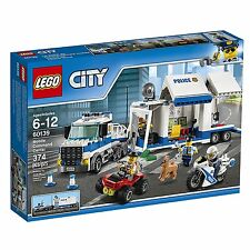 LEGO City Police Mobile Command Center Building KIT, 60139 LEGO SET 374pcs New