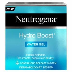 Neutrogena Hydro Boost Water Gel Moisturiser 50Ml New Skin Care Cream Hydrating