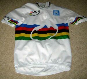 UCI World Champion (Mountain Bike) Santini cycling jersey [M]