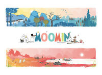 Jigsaw puzzle Morning and sunset with cute Moomin 38 * 52 cm 500 pieces TP05-503