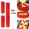 DIY Silikon Backform Kuchen Form Herz Schlange Erstellen Chape Nonstick Tray