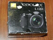 Open Box - Nikon COOLPIX L120 14.1 MP Camera - BLACK - 018208262533