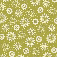 Waverly - So Chic GREEN-POSEY TOSS 100% cotton fabric by the yard