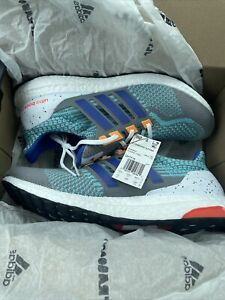 adidas Mens ULTRABOOST 5.0 DNA Grey/Sonic Ink Size 11 MSRP $180