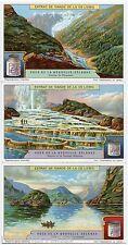Chromos Liebig. S1214 . Série complète .Vues de la NOUVELLE-ZELANDE.NEW-ZEALAND
