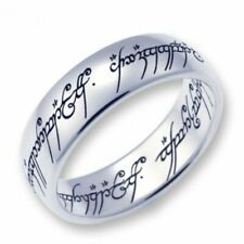 Herr der Ringe/Hobbit Schmuck by Schumann Design der EINE Ring ,Stahl poliert,64