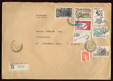 France 1981 Large Registered Mail Cover #V2440