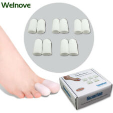 10pcs Hammer Toe Finger Cushion Silicone Tubes Sleeves Use as Protectors  S002