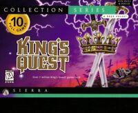 KING'S QUEST COLLECTION 1 2 3 4 5 6 7 PC GAME +1Clk Windows 10 8 7 Vista XP Inst