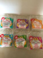 New Sealed McDonalds Happy Meal Disney Video Favorites 1998 Complete Set of 6
