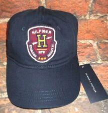 MENS TOMMY HILFIGER NAVY BLUE HAT ADJUSTABLE CAP ONE SIZE