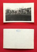 Militär Foto AK BEUTHEN in Oberschlesien Soldaten Kutsche Gespann Pferde ( 54576