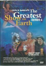 THE GREATEST SHOW ON EARTH ( CECIL B. DeMILLES ) NEW  DVD