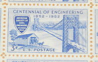 1952 sheet, Civil Engineers, ASCE, Sc# 1012