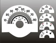 1988-1994 Chevrolet Truck C/K Dash Cluster White Face Gauges 88-94