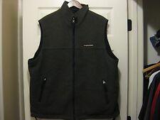 Abercrombie & Fitch Mountain Fleece Vest Reversible Men's X-Large