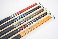 "SET OF 5 POOL CUES New 58"" Canadian Maple Billiard Pool Cue Stick #7 PLUS SHIP"