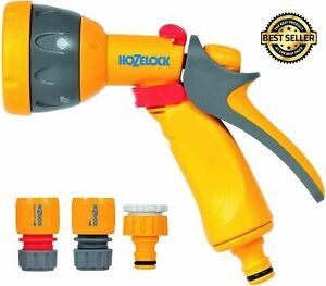 Hozelock Multi Spray Watering Gun Starter Set Hoselock Garden Connector Plants