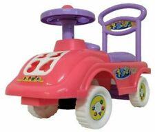 Push Along Walker Sit on Car Children With Under Seat Storage Pink Purple