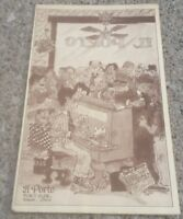 IL PORTO RESTAURANT Vintage 1984 Portside Mall DowntownToledo Ohio ORIGINAL MENU