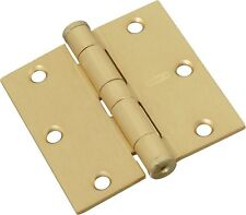 "Stanley S820-654 RPF179 Standard Weight Hinge, 4"", Satin Brass"