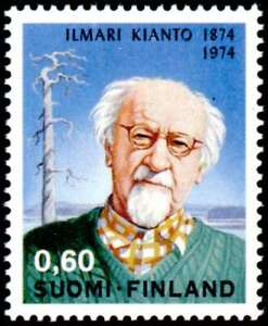 Finland 1974 Writer, Ilman Kianto, MNH / UNM