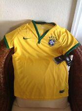 NIKE BRASIL CBF NATIONAL TEAM 2013/2014  HOME SOCCER JERSEY NWT SIZE XL women's