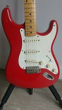 Fender Squier Stratocaster Japan MIJ 'E Series' Candy Apple Red 1986