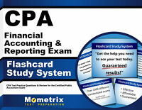 CPA Financial Accounting & Reporting Exam Flashcard Study System
